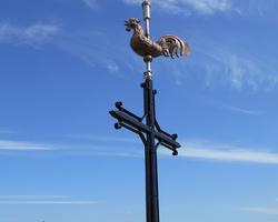 ART CAMP - Pommeret - Paratonnerres, croix, coqs