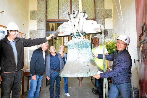 TREGUEUX Église Saint-Pierre. Restauration des cloches