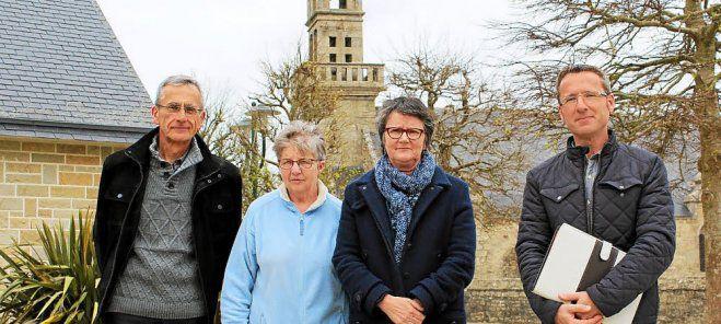 Dépose de la cloche de St Frégant