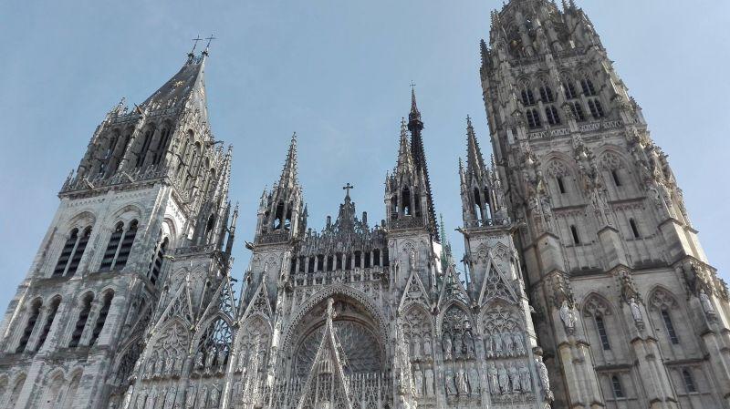 Visite de la cathédrale de Rouen